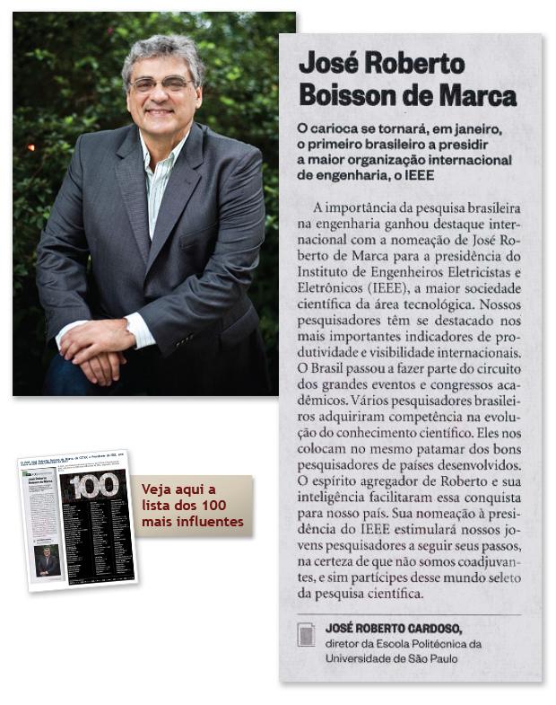 Foto e texto sobre José Boisson de Marca